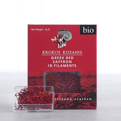 Picture of Organic Greek red Saffron in filaments 1gr