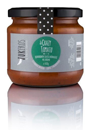 "Picture of Jukeros ""GRAZY TOMATO"" Handmade Tomato sauce, flavored with Spearmint 400gr"
