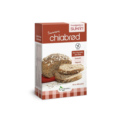 Picture of Sukrin Chia Bread Mix 250gr