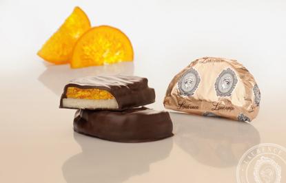 Εικόνα της Κεράσματα Σοκολάτας Μαρτσιπαν Πορτοκάλι 200gr