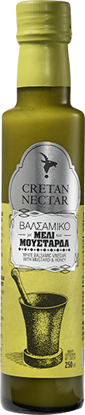 Picture of Cretan Nectar White Balsamic Vinegar with  Mustard and Honey 250ml