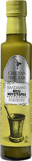 Picture of Cretan Nectar White Balsamic Vinegar with  Mustard and Honey 250ml
