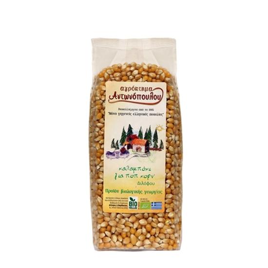 Picture of Bio pop corn kernels Antonopoulos 500gr