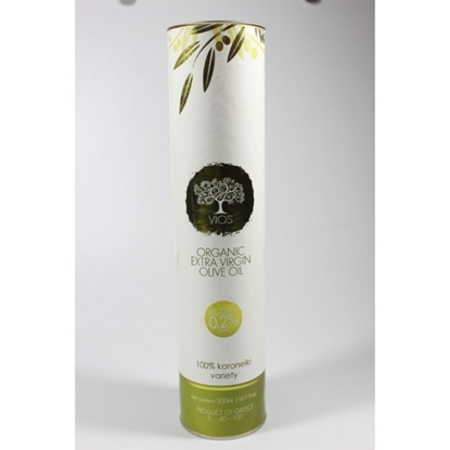 "Εικόνα της ""VIOS"" Organic Extra Virgin Olive Oil 500ml"