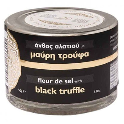 Picture of Meteora Museum Fleur de sel with Black Truffle 50gr