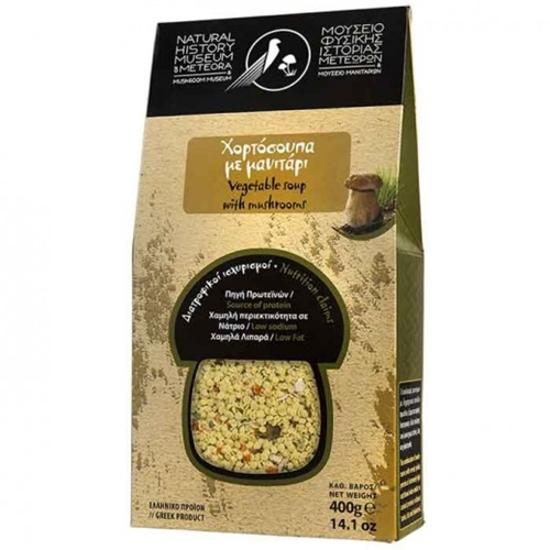 Picture of Meteora Museum Mushroom Vegatable Soup With Mushroom 400gr