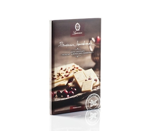 Laurence Premium White Chocolate 85gr
