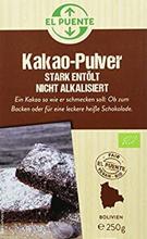El Puente Organic Cocoa Powder 250gr