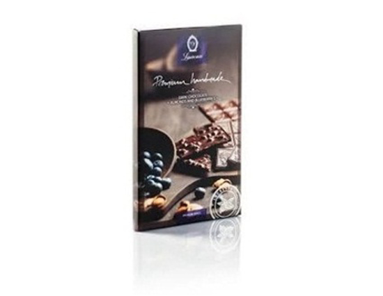 Laurence Premium Dark Chocolate with Almonds & Blueberries 80gr