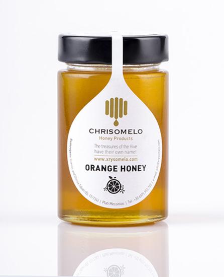 Χρυσόμελο  Μέλι πορτοκαλιάς 250gr
