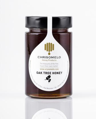 Picture of Chrisomelo Oak tree Honey 250gr
