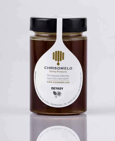 Picture of Chrisomelo Pine Honey 250gr