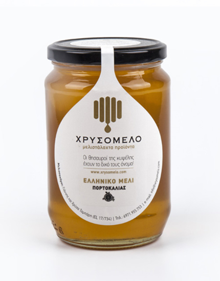 Picture of Chrisomelo Orange Ηoney 480gr