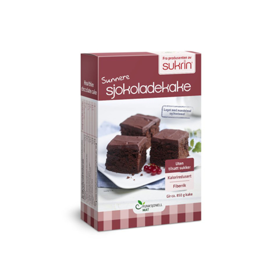 Picture of Sukrin Chocolate Cake Mix  410gr