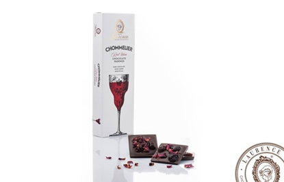 Picture of Laurence Chommelier Red wine chocolate pairing 100gr